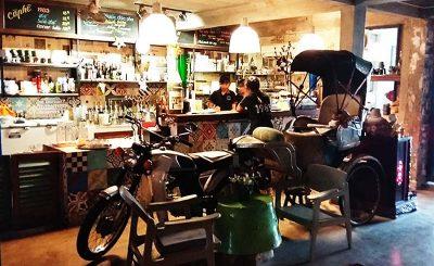 Quán cafe độc đáo ở Cần Thơ