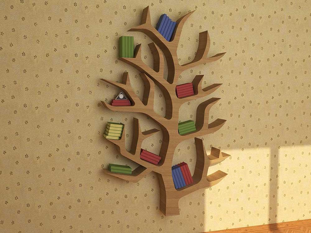 Kệ trang trí Nguyên gỗ