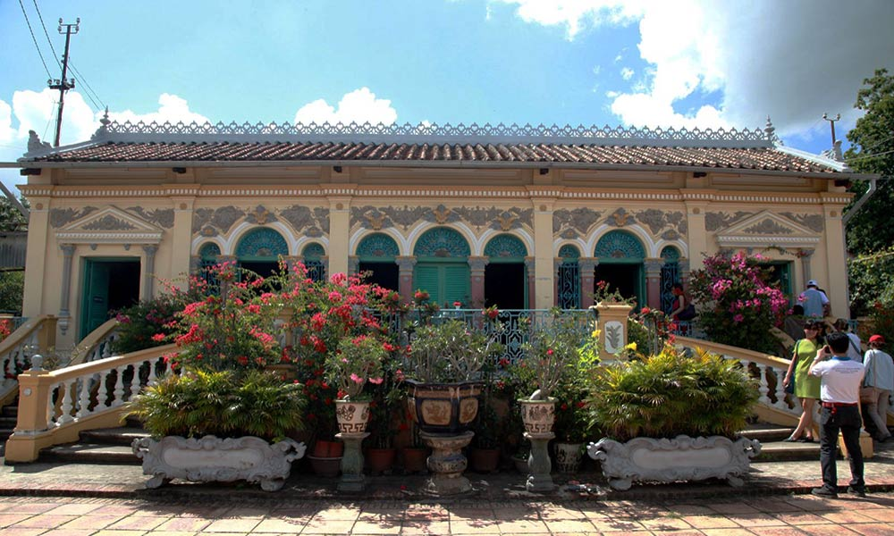 Nhà cổ Bình Thủy - Chụp ảnh ngoại cảnh Cần Thơ