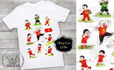 Áo thun Đội tuyển Bóng đá Việt Nam Chibi