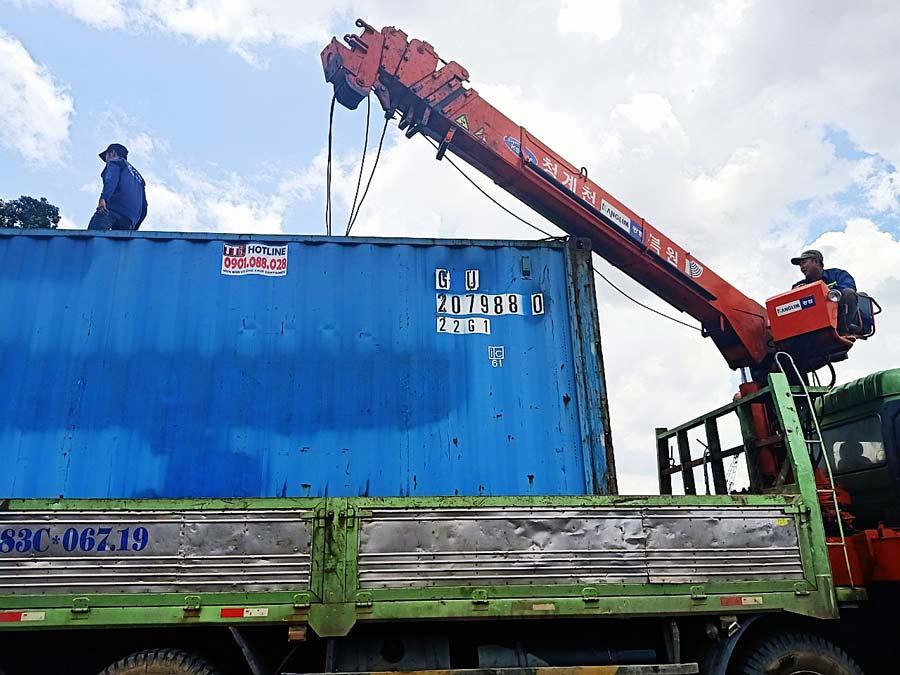 TTC Container chuyên thu mau Container cũ với giá tốt
