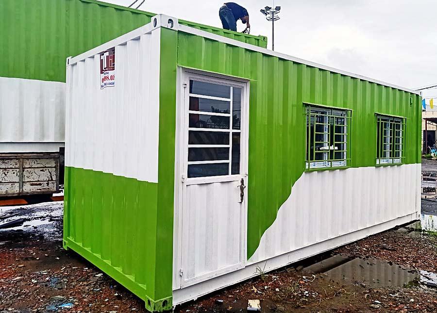 Chuyên mua bán và cho thuê container (công ten nơ) văn phòng tại Cần Thơ và miền Tây