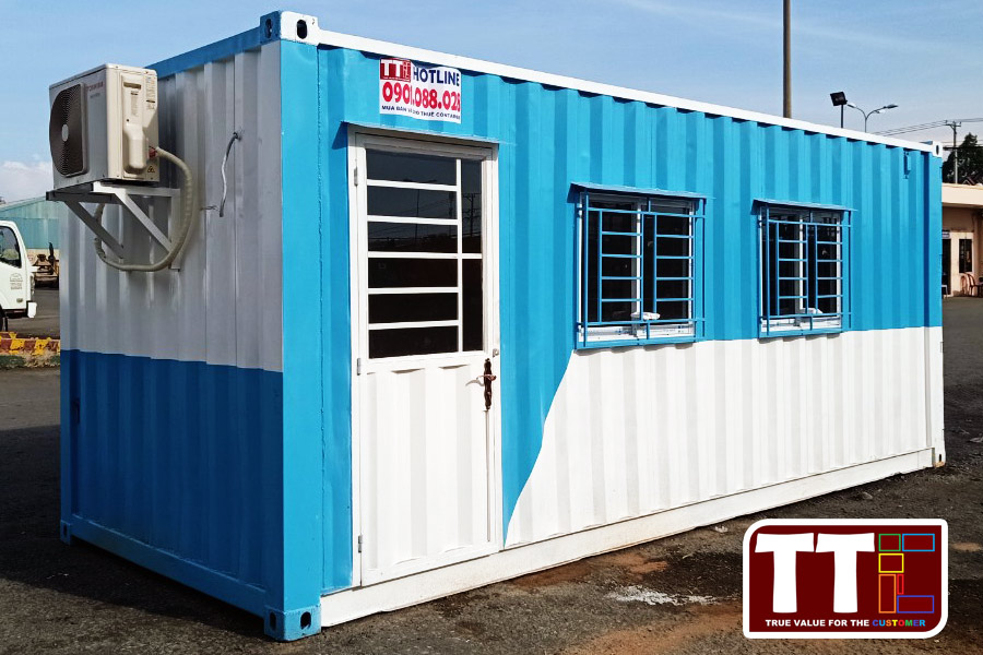 Mua bán và Cho thuê Container văn phòng uy tín