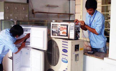 Điện lạnh Long Xuyên - Sửa máy lạnh, sửa tủ lạnh, sửa máy giặt Long Xuyên