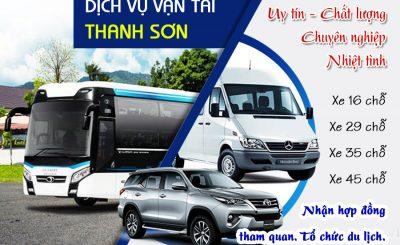 Vận tải Thanh Sơn - Dịch vụ thuê xe Phú Quốc