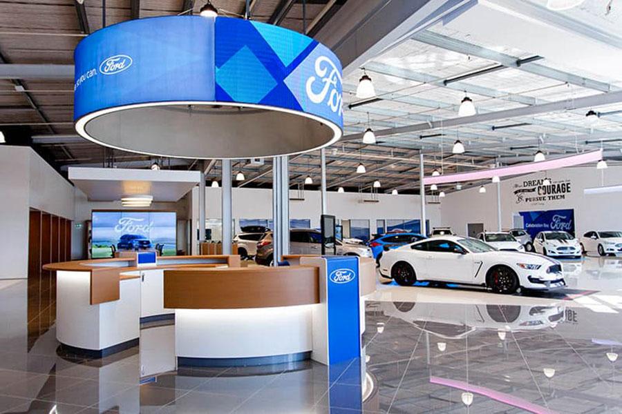 Đại lý 3S Ford An Giang