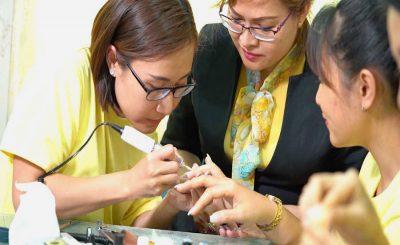 Đào tạo nghề nail tại Cần Thơ