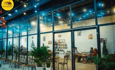 Quán Cafe nhà tiền chế khung thép Cần Thơ