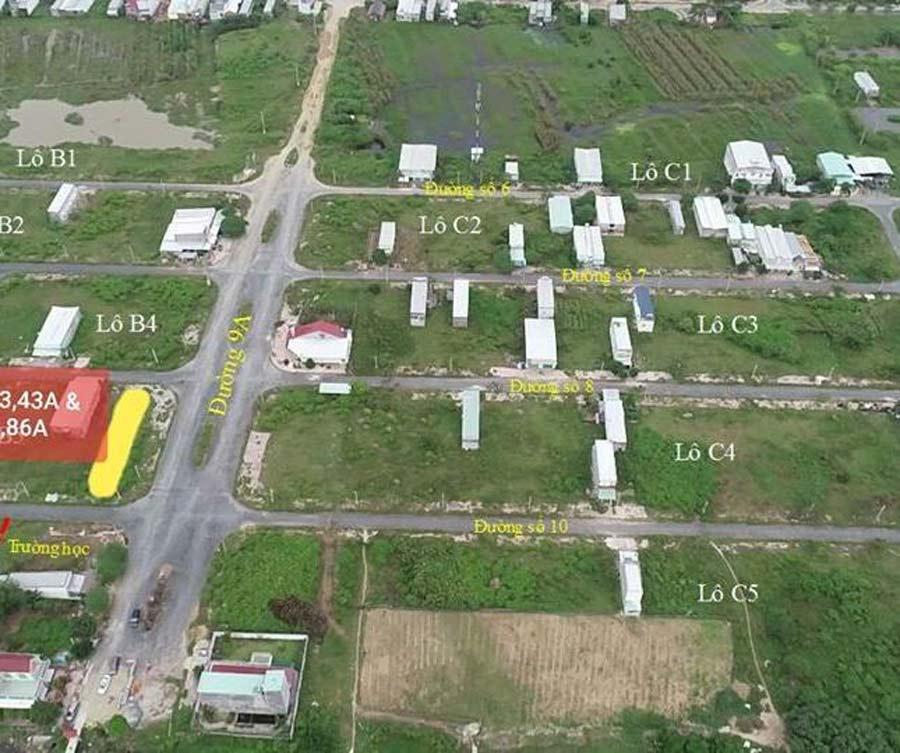 Cơ sở hạ tầng của Khu dân cư Đông Phú đang được hoàn thiện