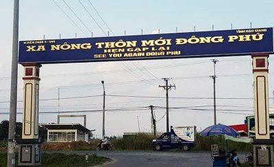 Đất nền Khu dân cư Đông Phú Hậu Giang