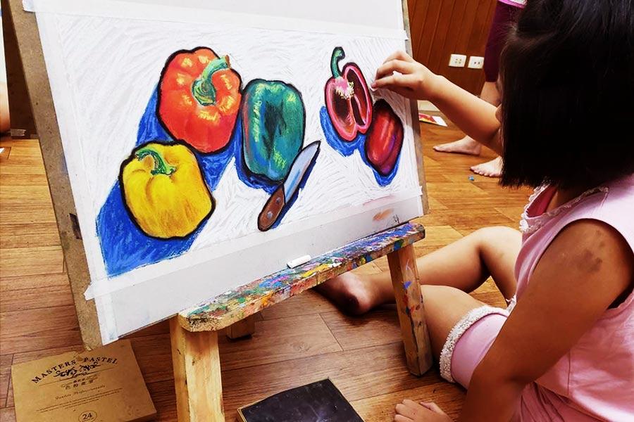 Lớp học vẽ tranh cho trẻ em Cần Thơ