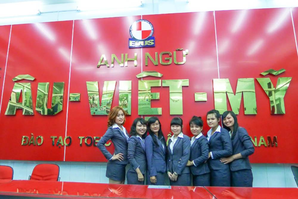 Trung tâm Anh ngữ quốc tế Âu Việt Mỹ Cần Thơ