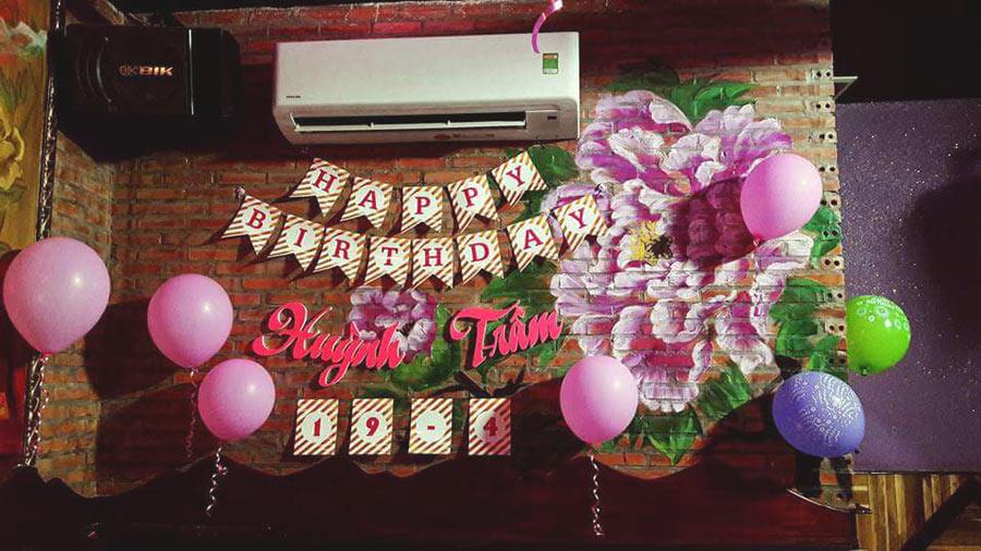 GA 18 nhận đặt tiệc sinh nhật, liên hoan