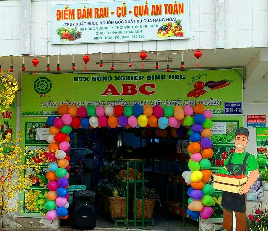 Cửa hàng rau củ quả an toàn ABC Cần Thơ