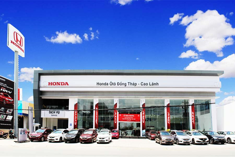 Đại lý Honda Ô tô Đồng Tháp: Tư vấn, Lái thử & Báo giá
