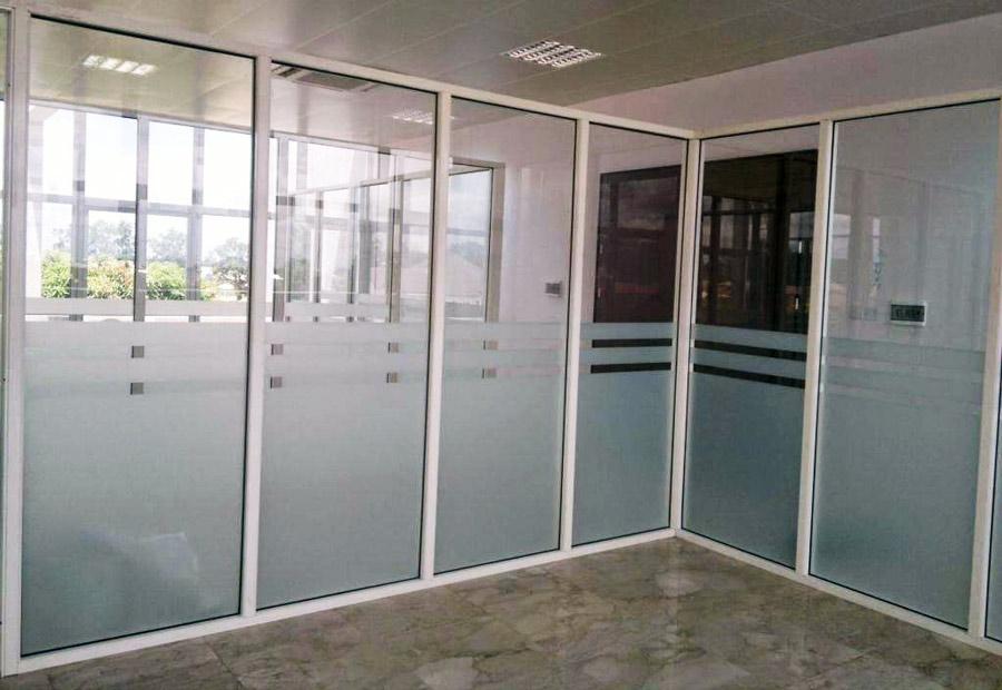 Giải pháp vách ngăn nhôm kính văn phòng trọn gói Mai Huỳnh