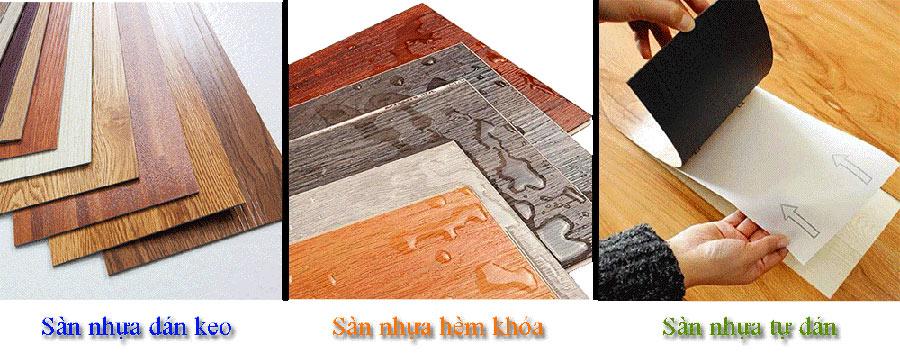 Phân loại sàn nhựa giả gỗ