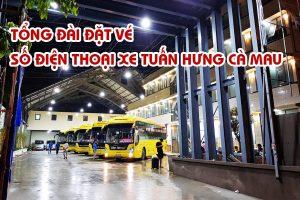 Tổng đài đặt vé - Số điện thoại xe Tuấn Hưng Cà Mau