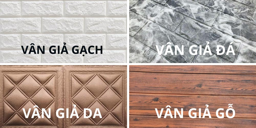 Các loại giấy dán tường phổ biến hiện nay