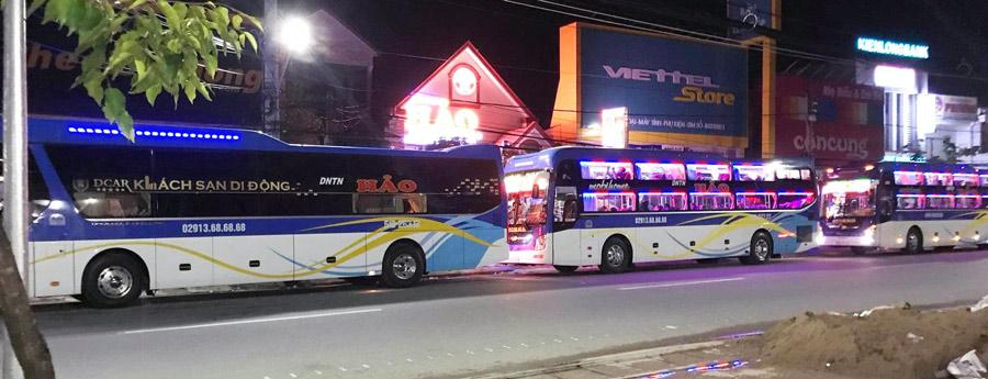 Nhà xe Hảo Cà Mau: Tuyến xe khách cố định Tp. Hồ Chí Minh đi Cà Mau