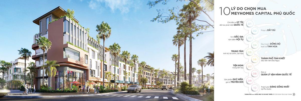 10 lý do nên mau Meyhomes Capital Phú Quốc