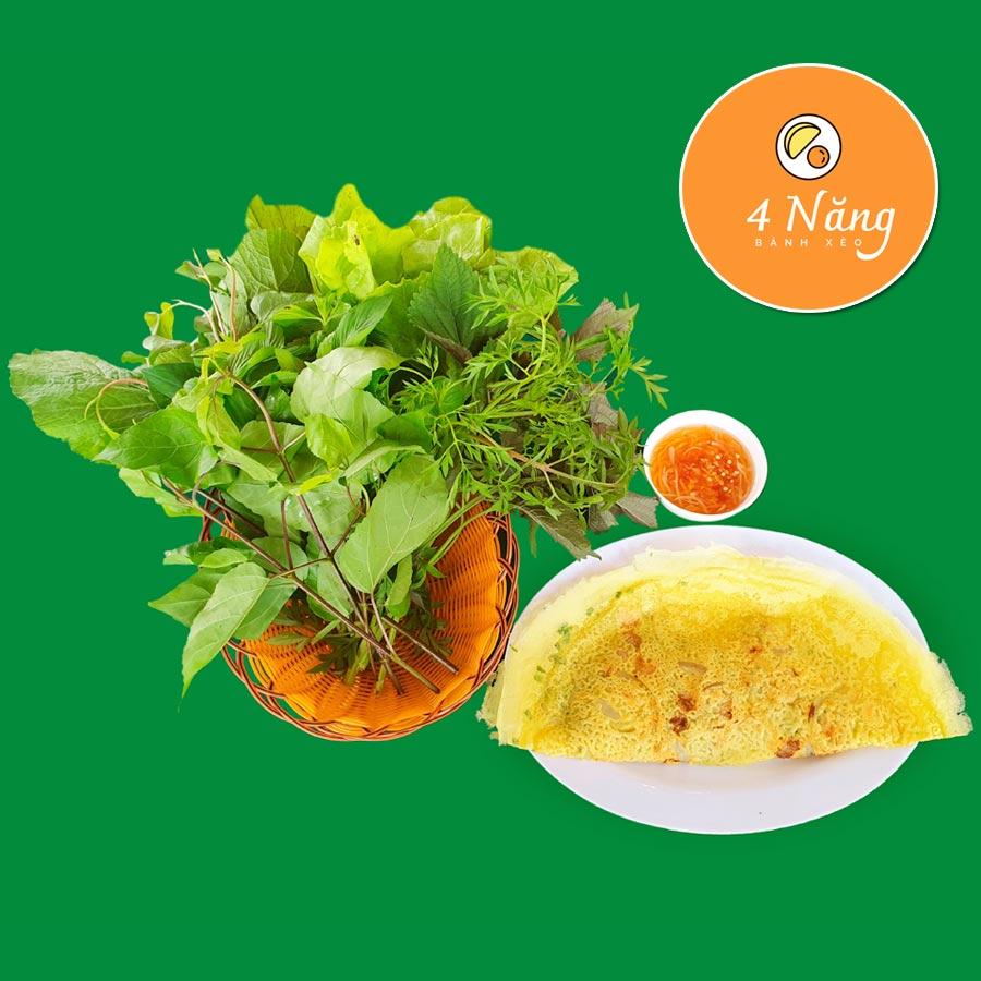 Bánh xèo Tư Năng: Thưởng thức món bánh xèo chuẩn vị Nam Bộ