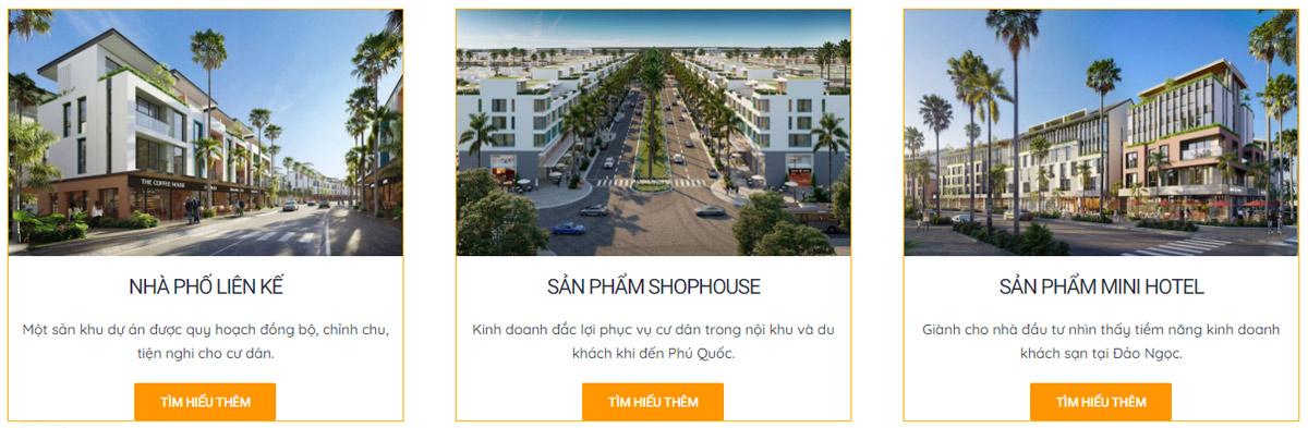 Sản phẩm Nhà phố liền kề - Shop house - Mini Hotel