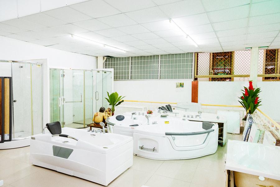 Trưng bày & phân phối các loại bồn tắm tại Cần Thơ