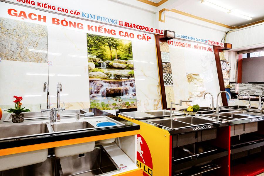 Siêu thị phụ kiện nhà bếp tại Cần Thơ