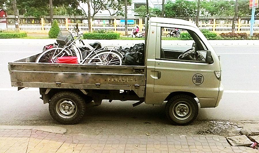 Xe tải chở thuê, dọn nhà trọ tại Cần Thơ (có nhận vận chuyển đi tỉnh và ngược lại)