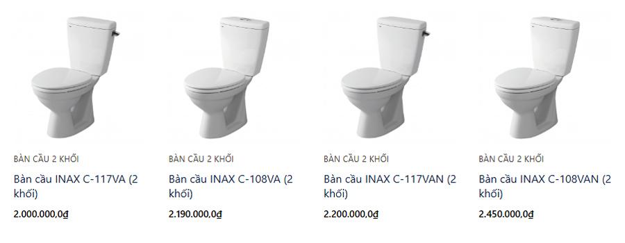 Đầy đủ các thương hiệu thiết bị vệ sinh uy tín & chất lượng tại Cần Thơ