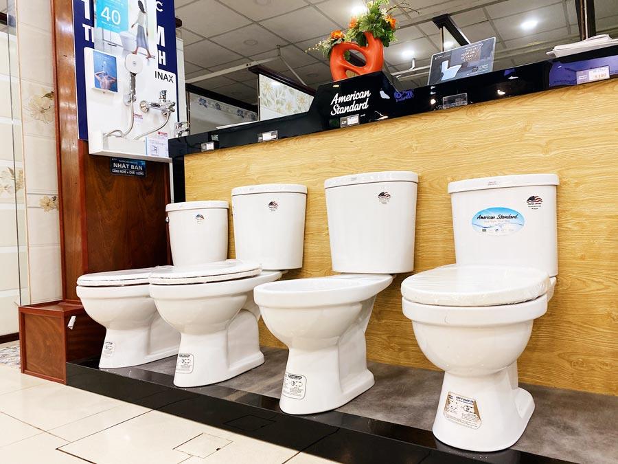 Các sản phẩm thiết bị vệ sinh từ hãng American Standard tại Cần Thơ