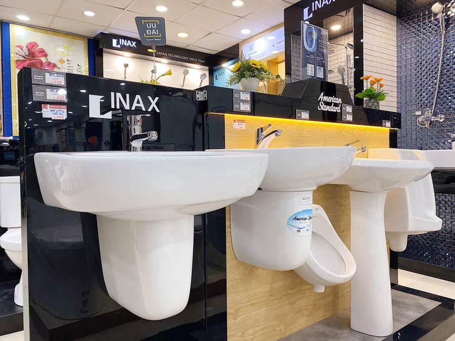 Thiết bị vệ sinh đến từ thương hiệu INAX Cần Thơ