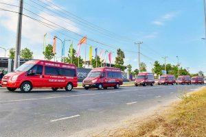 Limousine tuyến cố định: Nhà xe Mạnh Việt