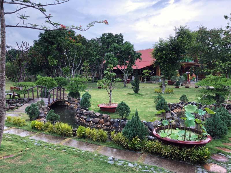 Khuôn viên Hakia Garden