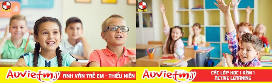 Anh văn trẻ em - Anh văn thiếu nhi & Chương trình Acvitive Learning 1 kèm 1