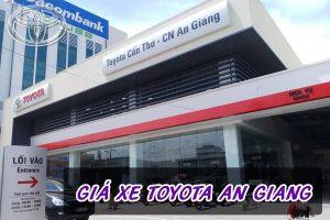 Bảng giá xe Toyota An Giang | Đại lý Toyota An Giang
