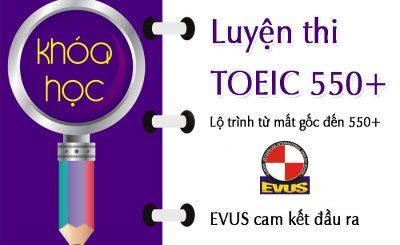 Chinh phục nhà tuyển dụng với TOEIC 550+