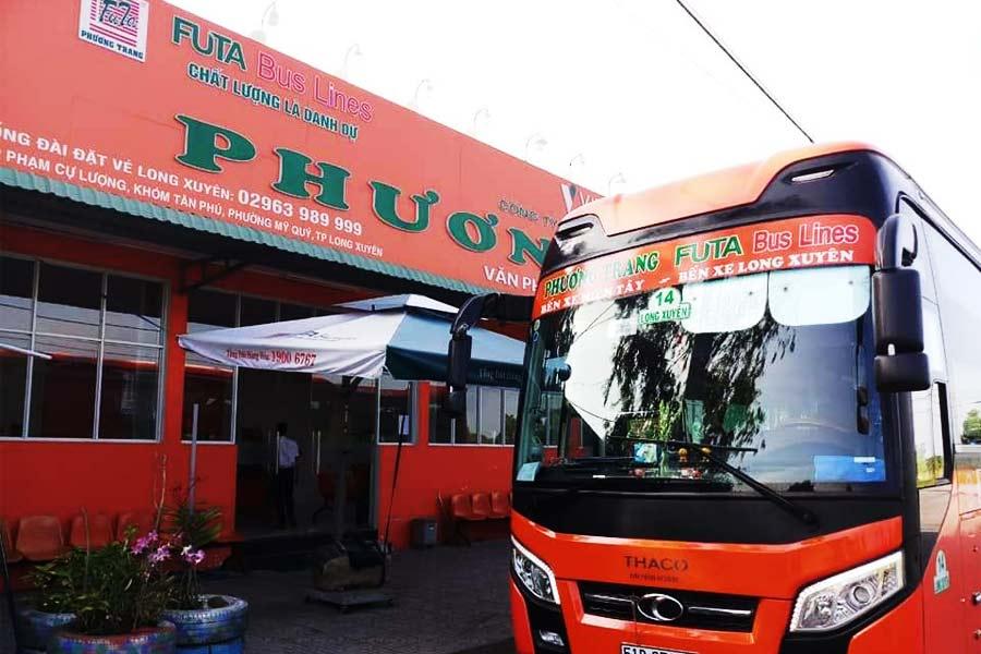 Tồng đài & Số điện thoại Nhà xe Phương Trang An Giang