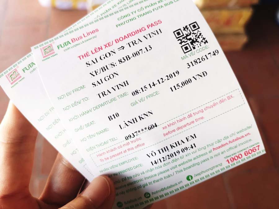 Giá vé mang tính chất tham khảo (giá vé thay đổi theo từng thời điểm khác nhau)
