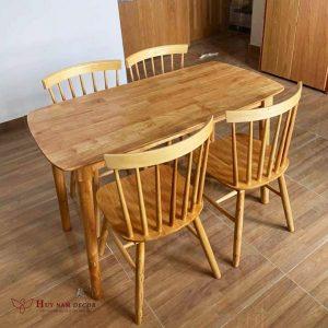 Bộ bàn ghế ăn Pinnstol (4 - 6 ghế) | Bàn ghế Cần Thơ