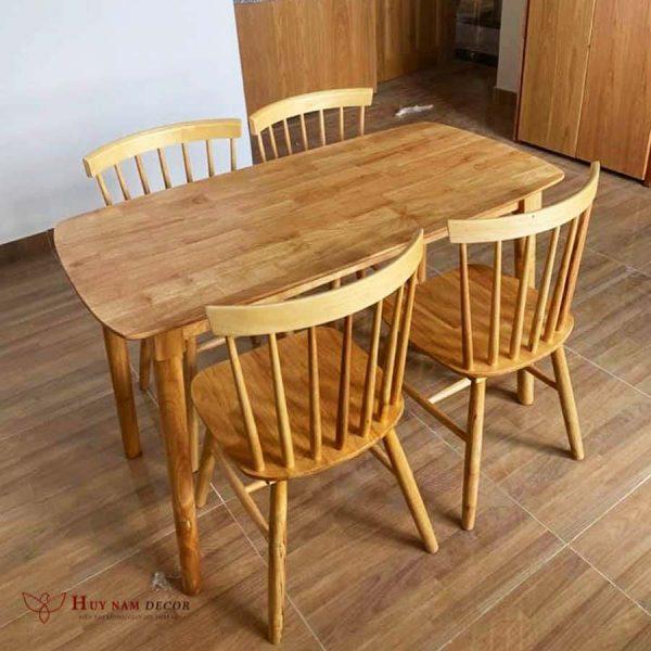 Bộ bàn ghế ăn Pinnstol (4 - 6 ghế)   Bàn ghế Cần Thơ