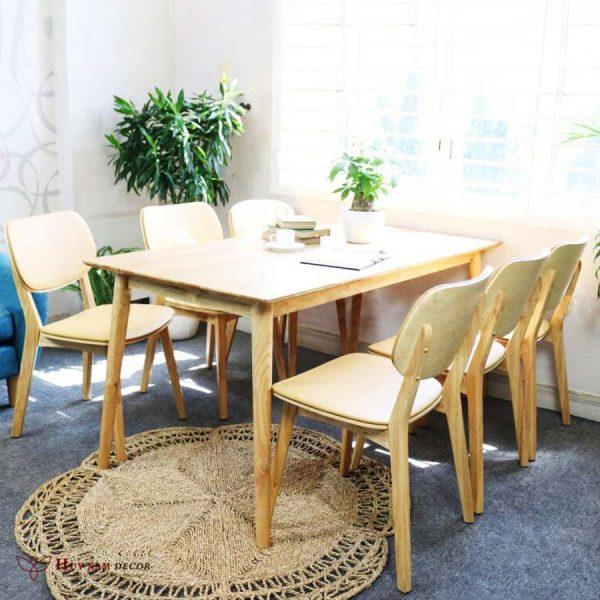 Bộ bàn ghế Venus (4 - 6 ghế) | Bàn ghế Cần Thơ