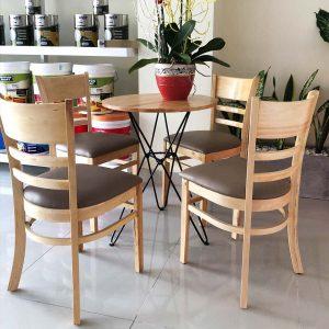 Bàn ghế gỗ cà phê Cần Thơ: Bền, Đẹp, Tiện Lợi & Giá Rẻ