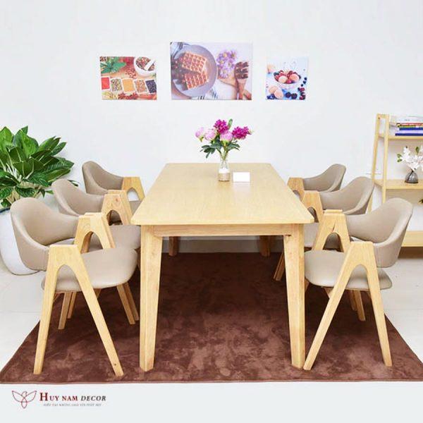 Bộ bàn ghế ăn Emma (4 - 6 ghế)   Bàn ghế Cần Thơ