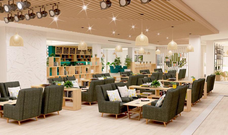 Dự Án Cafe & Book, Tp Long Xuyên, tỉnh An Giang