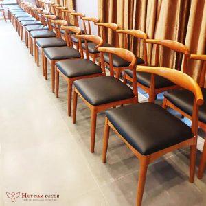 Bàn ghế gỗ cafe Bull (ghế sừng trâu) | Bàn ghế Cần Thơ