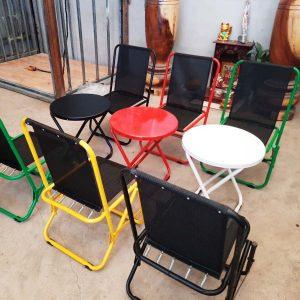 Bàn ghế xếp cà phê Cần Thơ: Bền, Đẹp, Tiện Lợi & Giá Rẻ
