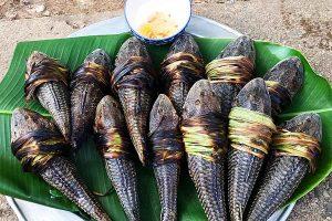 Cá lau kiếng luộc sả, lau kiếng nướng: Món ngon Miền Tây