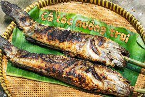 Cá lóc nướng trui: Thơm lừng hương vị Miền Tây